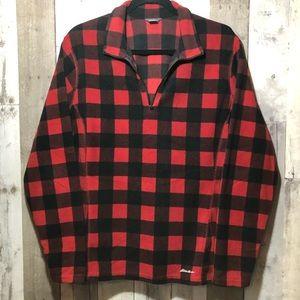 Eddie Bauer fleece pullover